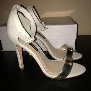 "Alice + Olivia Shoes - Alice + Olivia Gala 4"" Heels, NIB, Size 7.5"